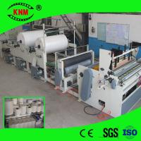 Quality Bath tissue roll two stand machine for bathroom tissue production wholesale