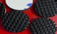 China A2180010218101002E Silicone Rubber Pad Anti Skidding Via Spots Surface on sale