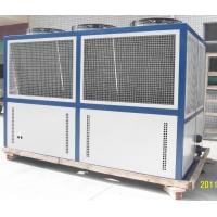 Quality Plate Fin Typed Air Cooled Water Chiller , Programmable Logic Control Panel wholesale