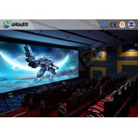 Quality Pneumatic System 5D Movie Theater 6 DOF Platform With Special  Environment wholesale