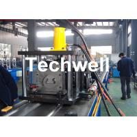 Quality Steel Sheet Upright Rack Roll Forming Machine for Storage Shelf Profile wholesale