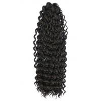 China Beautiful Indian Human Hair Kinky Curl Hair Extension For Women on sale