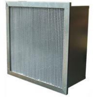 China Mini pleats high efficiency  High temperature air filter / hepa air filter, house air filters with pleated, clapboard on sale