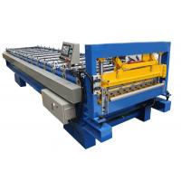 Quality Metal Roof Panel Cold Roll Forming Machine / Corrugated Roll Former Fully Automatic wholesale