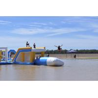 Quality Commercial Grade Inflatable Water Jump Pillow For Lake / Sea / Pool wholesale