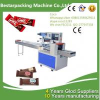 Quality Chocolate Bars Horizontal Pillow flow pack Machine wholesale