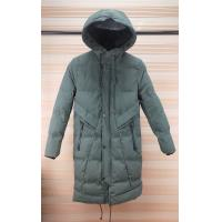 China Fashionable Womens Lightweight Padded Jacket Zipper Closure With Fix Hoody on sale