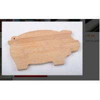China Bamboo Small Plastic Chopping Board Animal Shaped With Customized Logo Color on sale