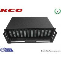 Quality Light Weight 1xN MPO MTP Patch Cord With 3U 19 Inch Patch Panel Rack Mount wholesale