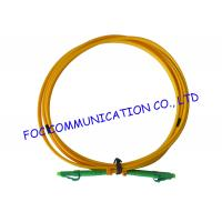 Quality LC / APC fiber patch cord Duplex G.657A2 Corning Fiber Bend Insensitive wholesale