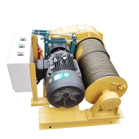 China industrial 1 5 10 ton 220v 12000lbs 13000lbs lifting euquipment wire rope electric auto winch on sale