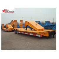 Quality Stable Loading Heavy Duty Semi Trailers Leaf Spring Suspension With Anti - Slip Strip wholesale