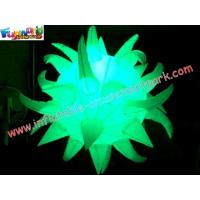 Quality LED RGB Color Changing Inflatable Lighting Decoration Star With Remote Control wholesale