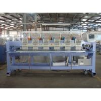 Quality Auto Embroidery Machine / 6 Head Embroidery Machine For Caps , Japanese Technology wholesale