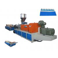 Quality PVC Roofing Sheet Plastic Extrusion Machine With Twin Screw Extruder/SJZS80/156 wholesale