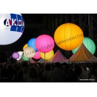 Quality Colorful Inflatable Lighting Decoration Standing Ball advertising Tripod Ball wholesale