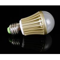 Quality Warm White E27/ E26 / B22 4W 50 - 60Hz 2M 80lux Aluminum Cover Dimmable LED Lighting Bulbs wholesale