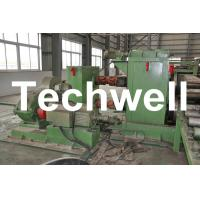 Quality Horizontal Steel Cut To Length Machine Line To Cut Carbon Steel / Stainless Steel Coils wholesale