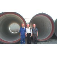 China DN2200 Ductile Iron Pipes on sale