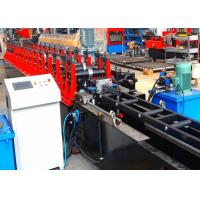 Quality Metal Strut Channel Roll Forming Machine , Gear Box Driven Frame Roll Former wholesale