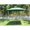 Buy cheap Promotional Rectangular Market Umbrella 240g Polyester Fabric Without Fringe from wholesalers