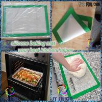 Quality 2015 any size nonstick silicon baking mat wholesale