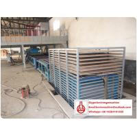 China Adjustable Thickness Gypsum Board Production Line , Automated Wall Panel Equipment on sale
