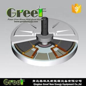 China 150rpm Vertical Wind Turbine Permanent Magnet Generator on sale