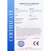 Ningbo Air Wolf Automation Co;Ltd Certifications