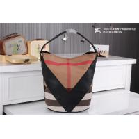 Quality Wholesale 2014 New designer fashionable womens b-urberry women leather grid branded bags wholesale