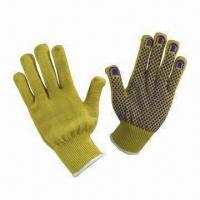 Quality Cut Resistance Gloves with Kevlar Dots, Meets EN 388 Standard, Suitable for Handling Metal Sheet wholesale