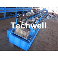 Quality Steel Structure C Shaped Purlin Roll Forming Machine for Making C Purlin Profile by Chain Drive wholesale
