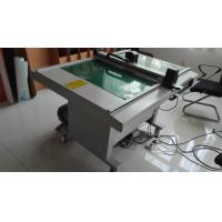 China Electronic Digital Die Cutting Machines , Adhesive Paper Flatbed Cutting Machine on sale