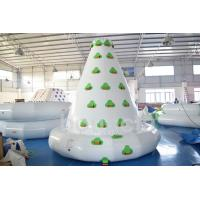 Quality Kids Inflatable Water Sport , Large Inflatable Water Climbing Wall wholesale