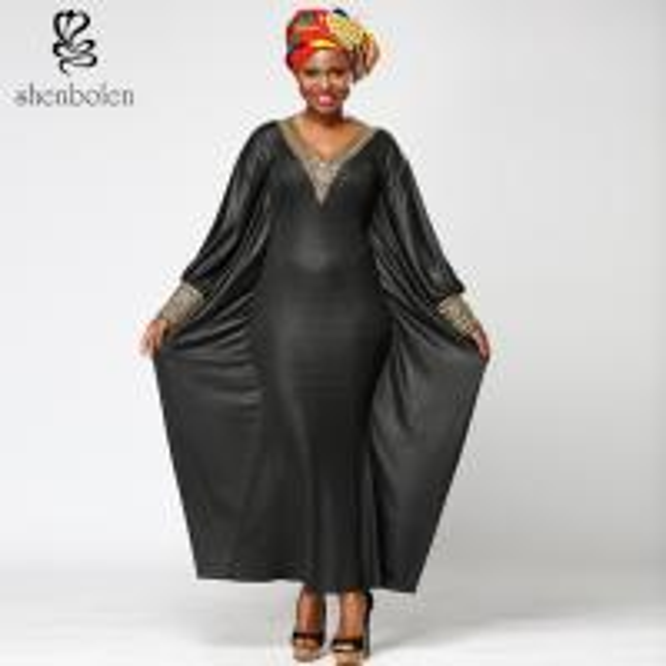Cheap Kaftan Slim Fit African Print Gowns Shirt Dresses , Long African Print Formal Dresses for sale