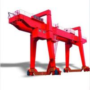 Quality Rail Mobile Double Girder Gantry Crane /  Electric 80ton 50 Ton Gantry Crane wholesale