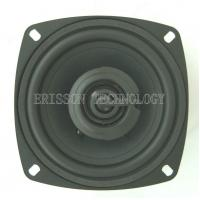 Quality 105mm 15w 86dB  Coaxial Car Speaker , Paper Cone With Rubber Edge wholesale