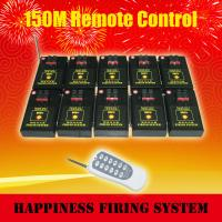 Quality CE passed 10 channels / 10 cues Salvo and sequential fire Wireless Remote Control Fireworks Firing System (DB01r-10) wholesale