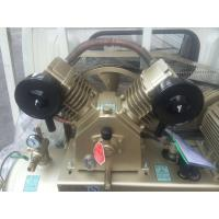 Cheap Sigle Phase Reciprocating Industrial Air Compressor Belt Type 8bar 3hp / 2.2KW 2 for sale