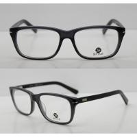 Lightweight Classic Acetate Glasses Frames For Men / Women To Protect Eyes