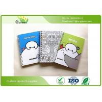 Quality SGS A5 Glue / Spiral Bound Notebook With 90 Sheets Inside Recycled  Paper wholesale