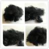 Buy cheap Non Woven Black Polyester Fiber , Pet Staple Fiber 8 Denier X 64 Mm from wholesalers