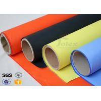 Quality Fireblanket Fiberglass Silicone Coated Fiberglass Fabric Fireproof Cloth wholesale