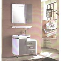 Cheap Round type 15mm PVC Material ceramic vanity top with integrated sink 90 X 45 / for sale