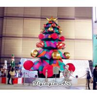 Quality Customized 5m Height Christmas Inflatable Tree with Blower for Christmas Decoration wholesale