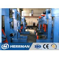 China 2mm - 200mm Round Cable Rewinding Machine With Spark Testing Gantry Rail Walk Type on sale