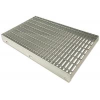 Cheap Steel Bar Tru Pressure Welded Grating , Galvanized Serrated Grating for sale