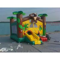 Quality Custom outdoor inflatable jumpers , bouncing house for children Playground / Play Center wholesale