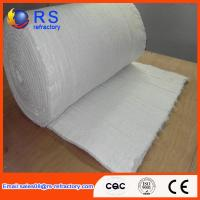 Quality Heat Insulation Kaowool Ceramic Fiber Blanket 600mm ,610mm Width White Color wholesale