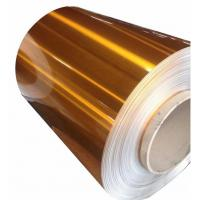 Quality Extra Wide Painted Aluminium Coil Color Coated Aluminium Coil Excellent Flatness wholesale